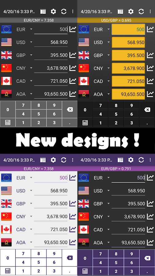 Currency Converter Plus Screenshot 1