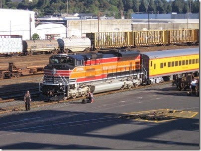 IMG_8926 Union Pacific SD70ACe #1996 at Brooklyn Yard in Portland, Oregon on September 6, 2007