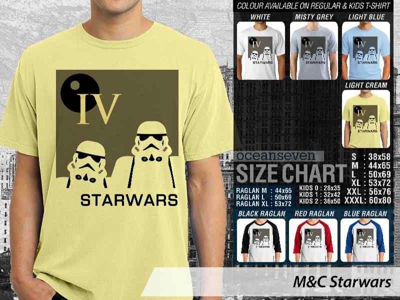 Kaos Movie Star Wars Film Cinema distro ocean seven