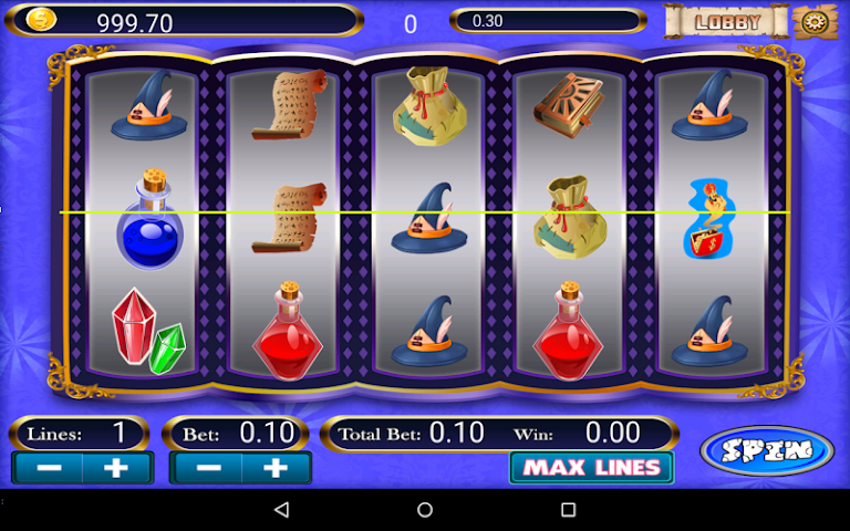android Olympus Doubledown Slot Screenshot 1