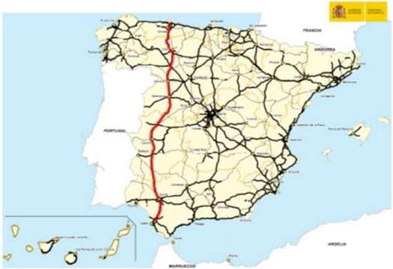 De Gijón a Sevilla sin pasar por Madrid: abierta toda la autovía Ruta de la Plata A-66