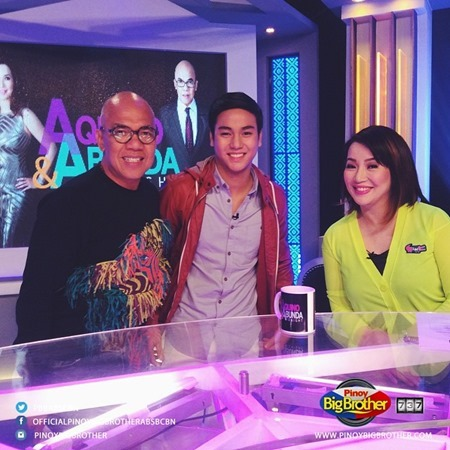 Kenzo Gutierrez on Aquino & Abunda Tonight