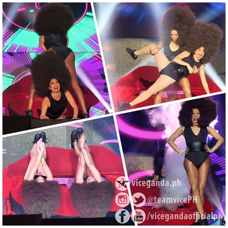 Anne Curtis and Vice Ganda on It's Showtime (Vice Ganda on Facebook)