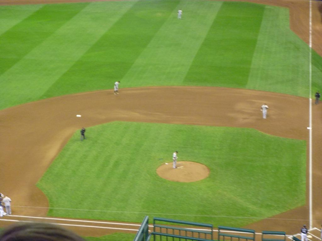 the baseball game,