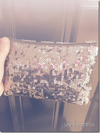 sparkle bag purse