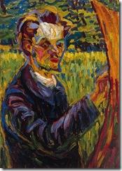 Ernst-Ludwig-Kirchner-Portrait-of-the-painter-Erich-Heckel
