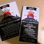 flyers at Red Bull Thre3Style at Ageha in Tokyo in Tokyo, Tokyo, Japan