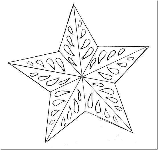 adornos navidad papel