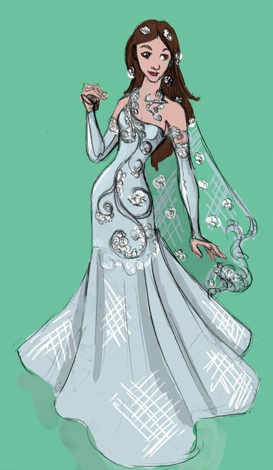 Wedding Dress Number 2 by  Pharoahess on deviantART