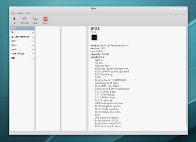lshw-gtk pantalla y Ubuntu