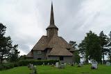De staafkerk in Dombås