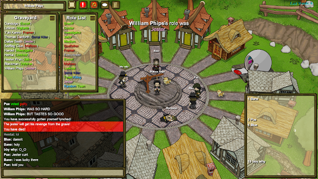 Town of Salem - Second victory as jester