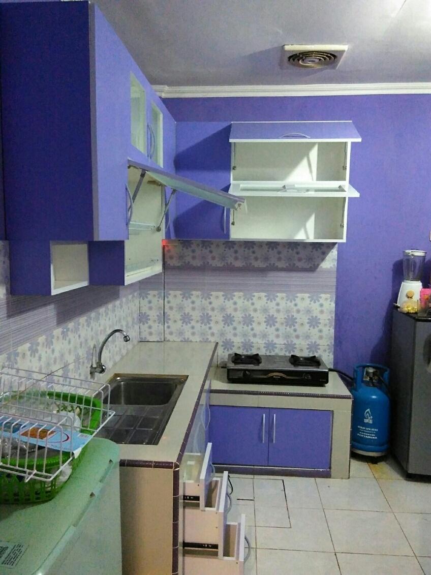 Furniture kitchen set minimalis lemari pakaian jakarta for Kitchen set jadi murah