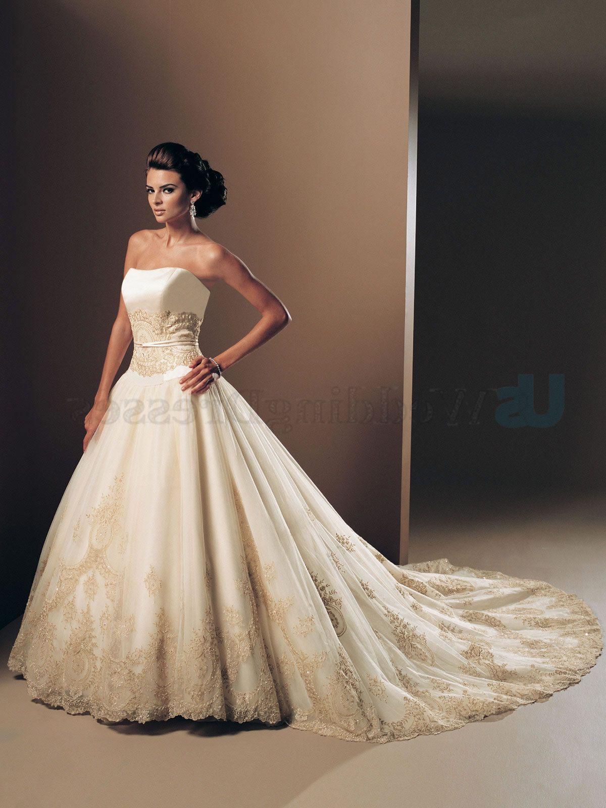 Ball Gown Organza Overlay