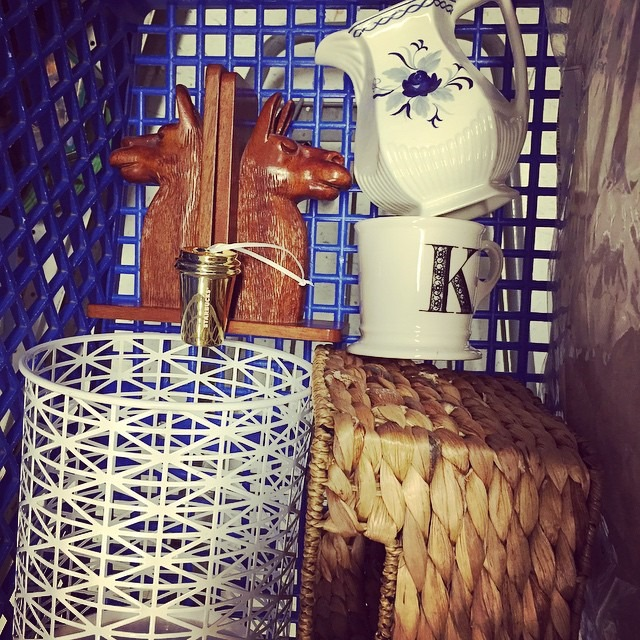 thriftscorethursday brideonabike shopping cart