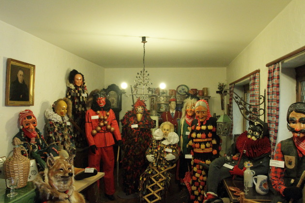 Festive costumes of Black Forest