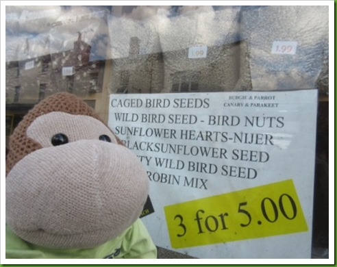 Bird seed shop evesham