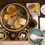 chanko dinner in Tokyo, Tokyo, Japan