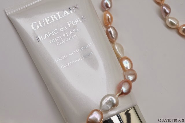 Guerlain Blanc en Perl White Pearl Cleanser Cleansing Foam Review (2)