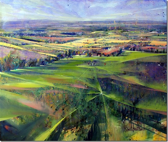 Sussex Weald II-Lorna-Holdcroft-ENKAUSTIKOS