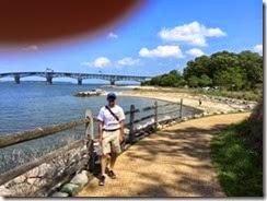 Yorktown walk JPK
