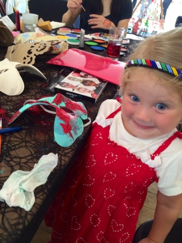 Halloween Craft - halloween mask making- Little House Lovely - Hobbycraft - Maegan Clement