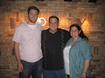 with Billy Gardell and Denise Ramsden at Improv in Chicago