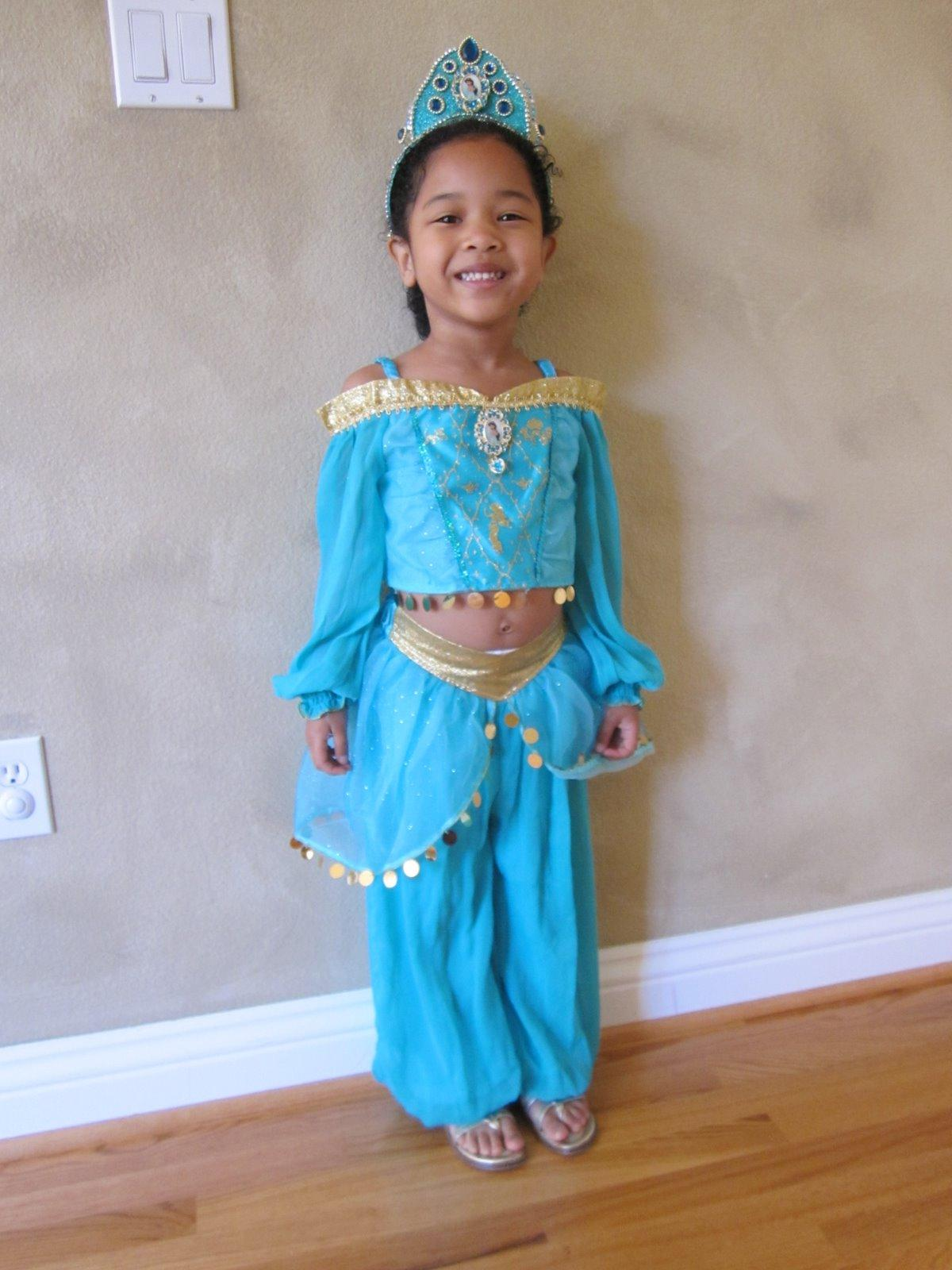 Dani planned to dress up as Princess Jasmine but decided to change because