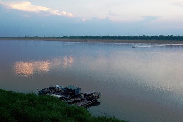 кратье город камбоджа меконг река
