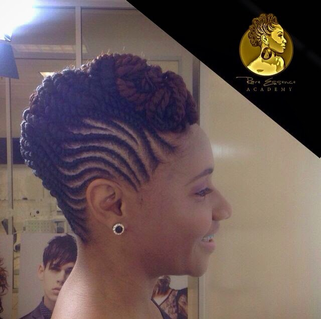 Graceful Hair Makeover Nigerian Clap Hairstyle Sade