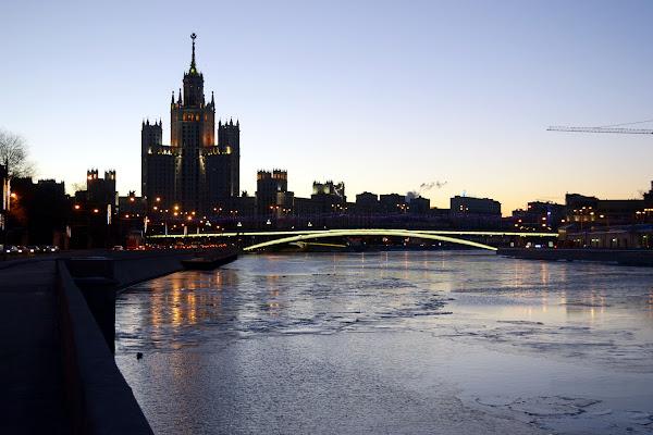 сталинская высотка москва река котельническая набережная