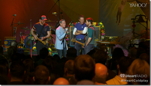 Coldplay iHeartRadio A Head Full Of Dreams album release party-6
