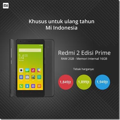 Xiaomi Redmi 2 Edisi Prime
