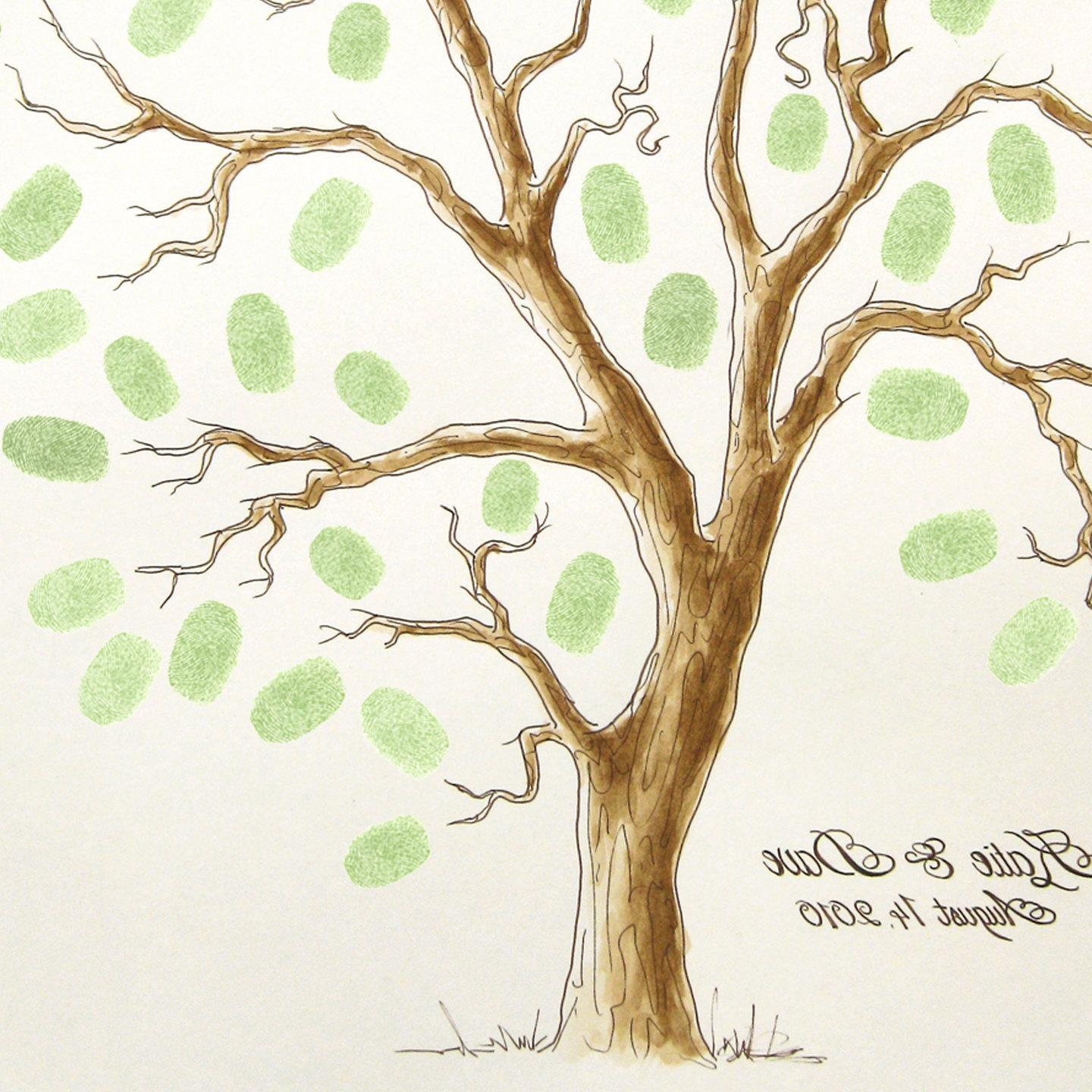 Wedding Tree Guest Book 11 x
