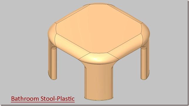 Bathroom Stool-Plastic_1