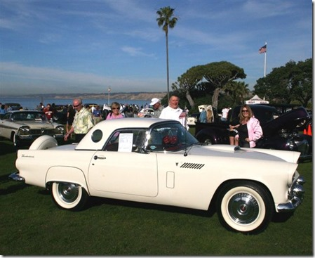 1956 thunderbird, THE FORD