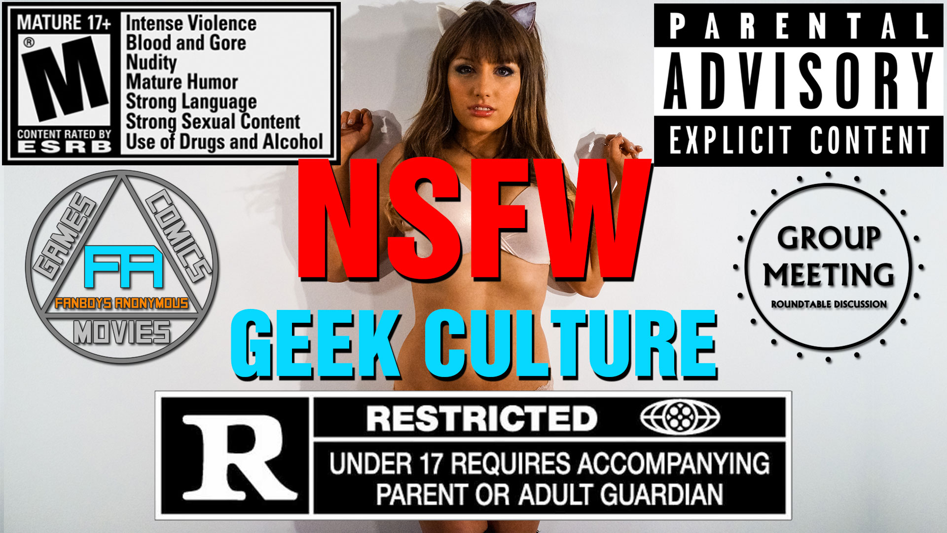 Not Safe for Work movies TV NSFW games geek topics