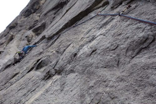 El Capitan West Face 5.11c