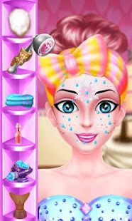 Fashion Princess Face Makeup