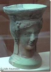 Pebetero ibérico de la diosa Tanit - Museo del Mar - Santa Pola
