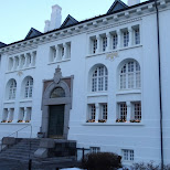 historic buildings in Reykjavik in Reykjavik, Hofuoborgarsvaeoi, Iceland