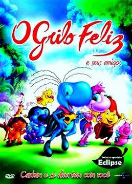 Filme Poster O Grilo Feliz e Seus Amigos DVDRip XviD & RMVB Nacional