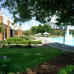 Millican Hall and the Reflection Pond