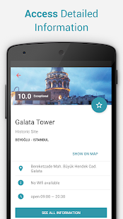 Istanbul Offline City Map - screenshot