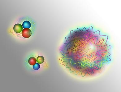 nucleons e glueball