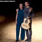 ... magia... arte... Erika Escribá Astaburuaga & Josué Tacoronte en el Palau de la Música de Valencia.