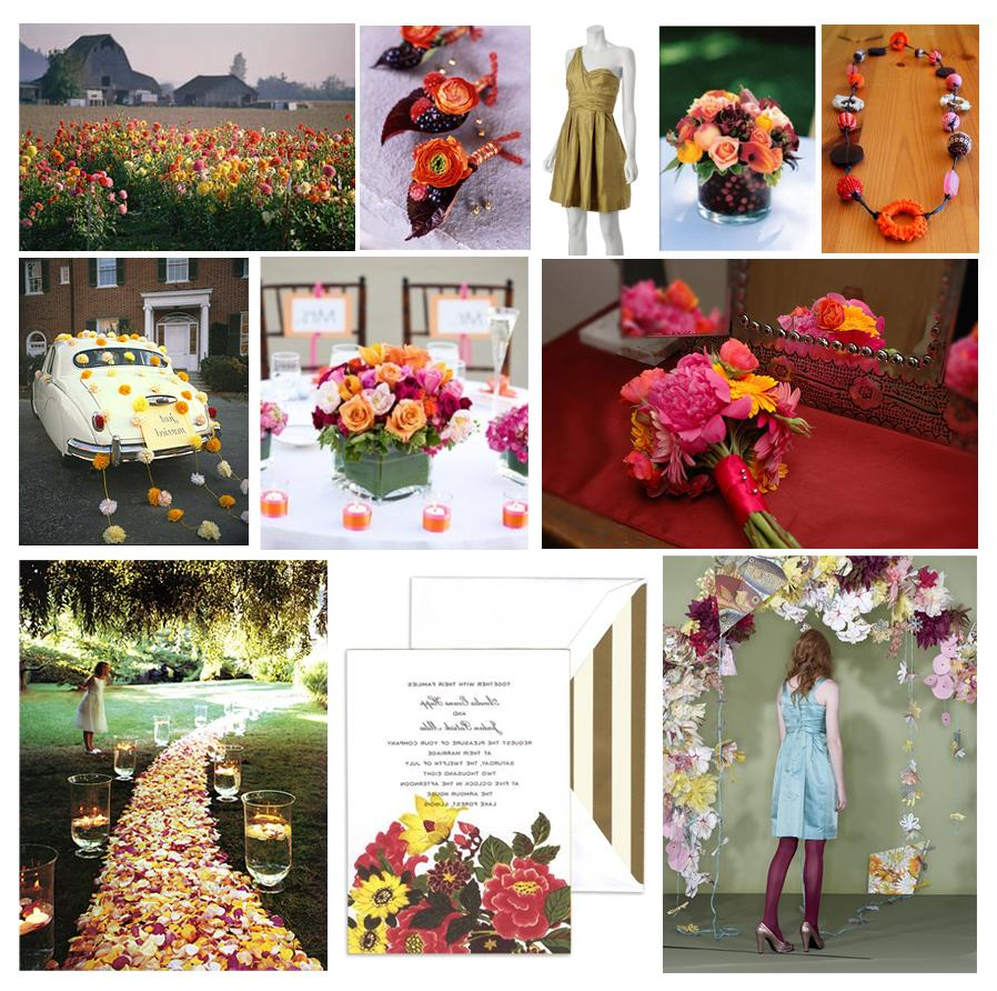 Wild Flower Party   Wedding
