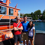 our Captain for today in Tobermory, Ontario, Canada