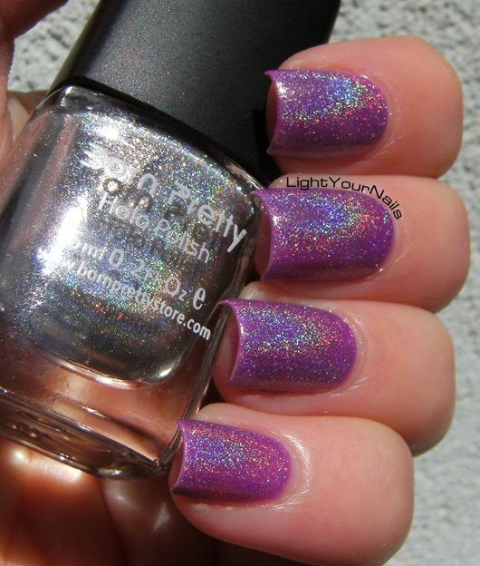 BornPrettyStore silver holographic