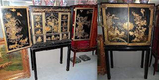 Шкафчик/кабинет. Китай ок.1900 г. 89/44/155 см. 6500 евро.